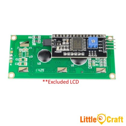 I2C Adaptor for 1602 or 2004 Character LCD