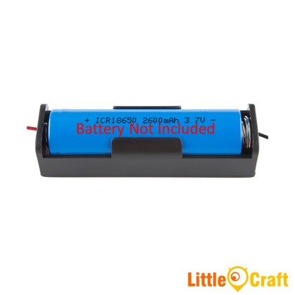 18650 Single Cell One Slot 3.7V Battery Holder