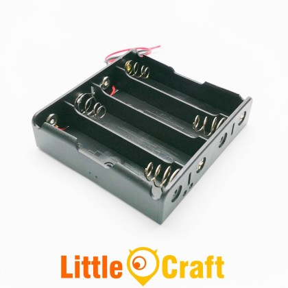 18650 Four Cell Four Slot 3.7V Battery Holder