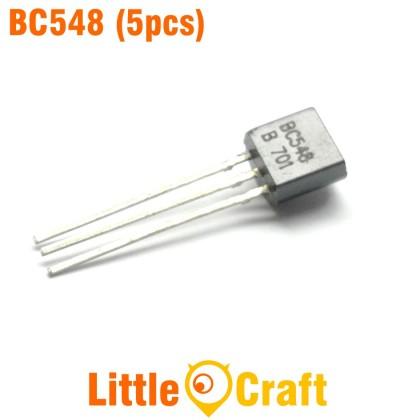 Transistor BC548 NPN General Purpose Amplifier (5pcs)