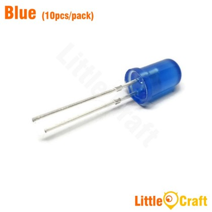 5MM Round Head LED (10pcs/pack)