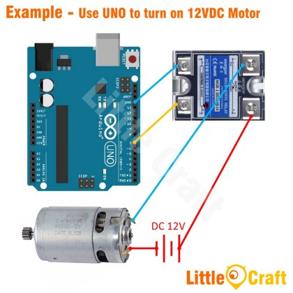 DC to DC SSR 10A Solid-State Relay MGR-1DD220D10
