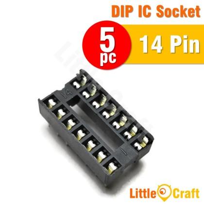 5pcs DIP SIP IC Socket 6p 8p 14p 16p 18p 24p 28p