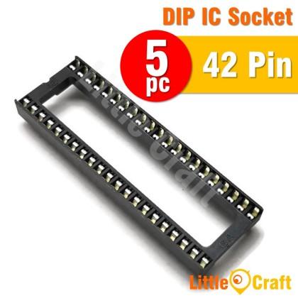 5pcs DIP SIP IC Socket 22p 28p(W) 32p 40p 42p 48p