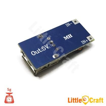 PFM DC-DC 0.9V-5V To USB 5V 600mA Step Up Converter