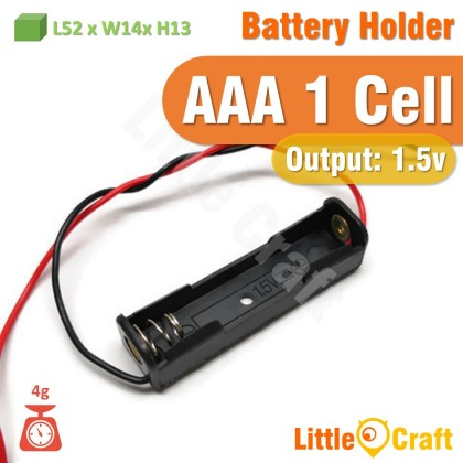AAA Battery Holder With Cable 1 Cell 2 Cell 3 Cell 4 Cell 6 Cell 8 Cell