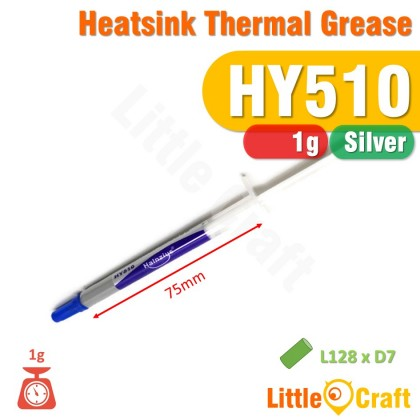Thermal Grease Paste Gold Silver 30g 1g HY510 HY610