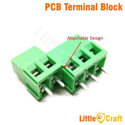 KF128 PCB Terminal Block - 300V 10A 2P 3P