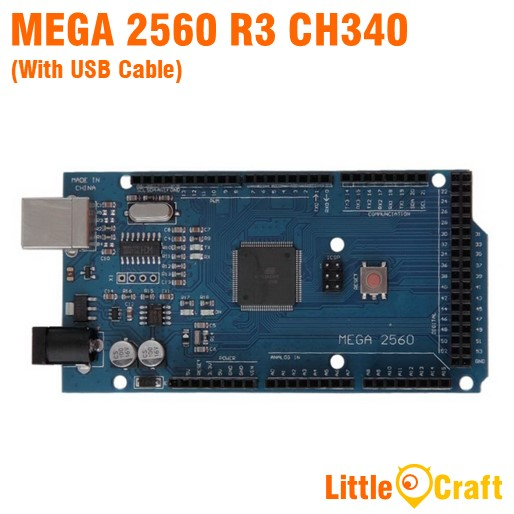 Arduino Mega 2560 R3 CH340 With USB Cable