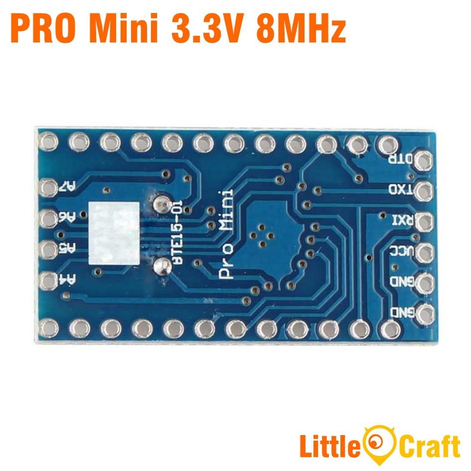 Arduino Pro Mini 168 3.3V 8MHz