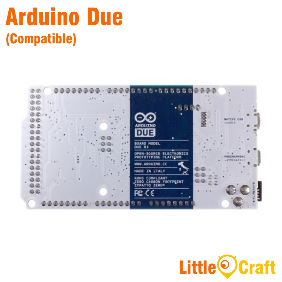 Arduino Due Compatible With USB Cable
