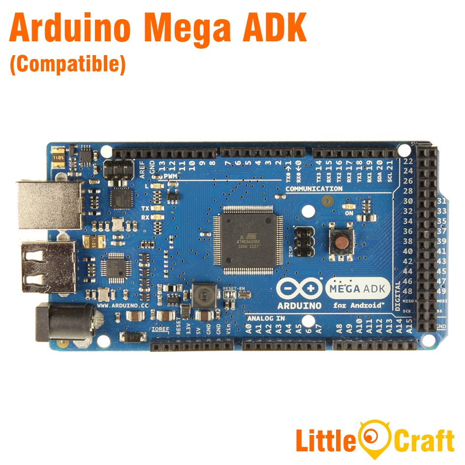 Arduino Mega ADK Compatible With USB Cable