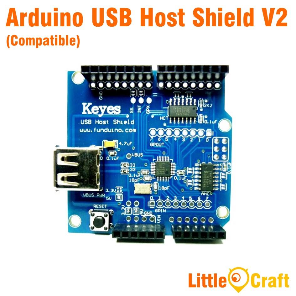 Arduino USB Host Shield V2