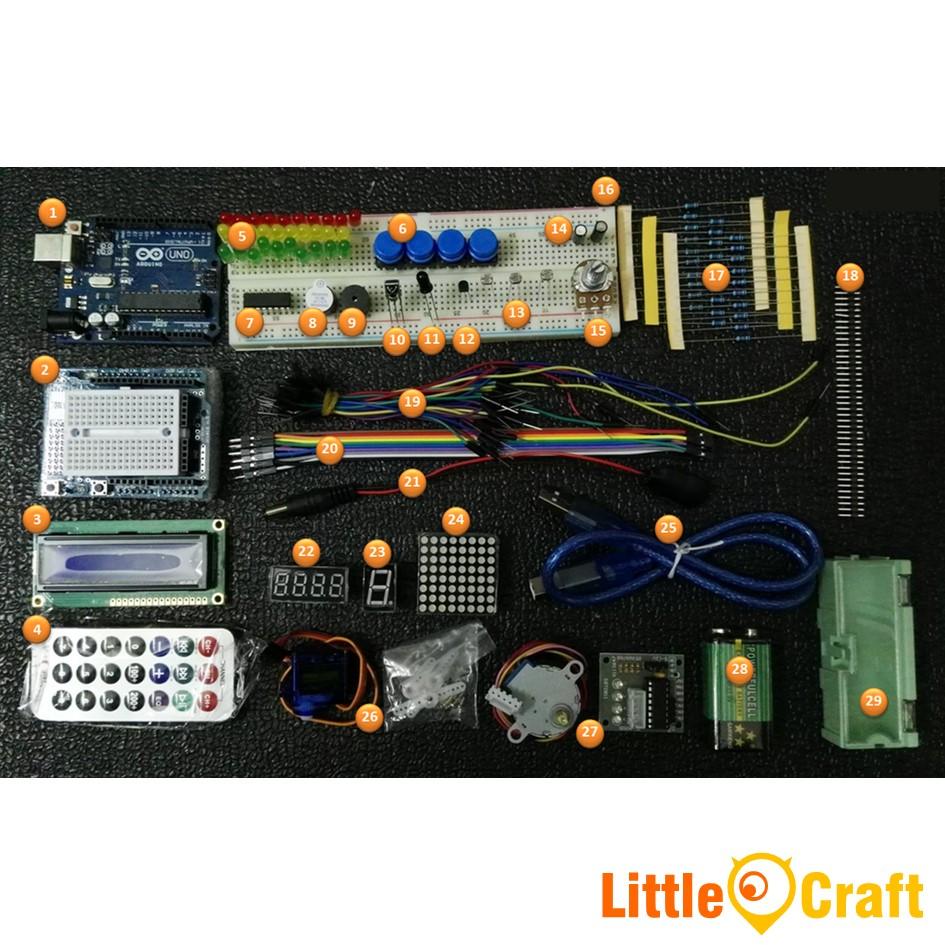 Arduino Deluxe Learning Kit