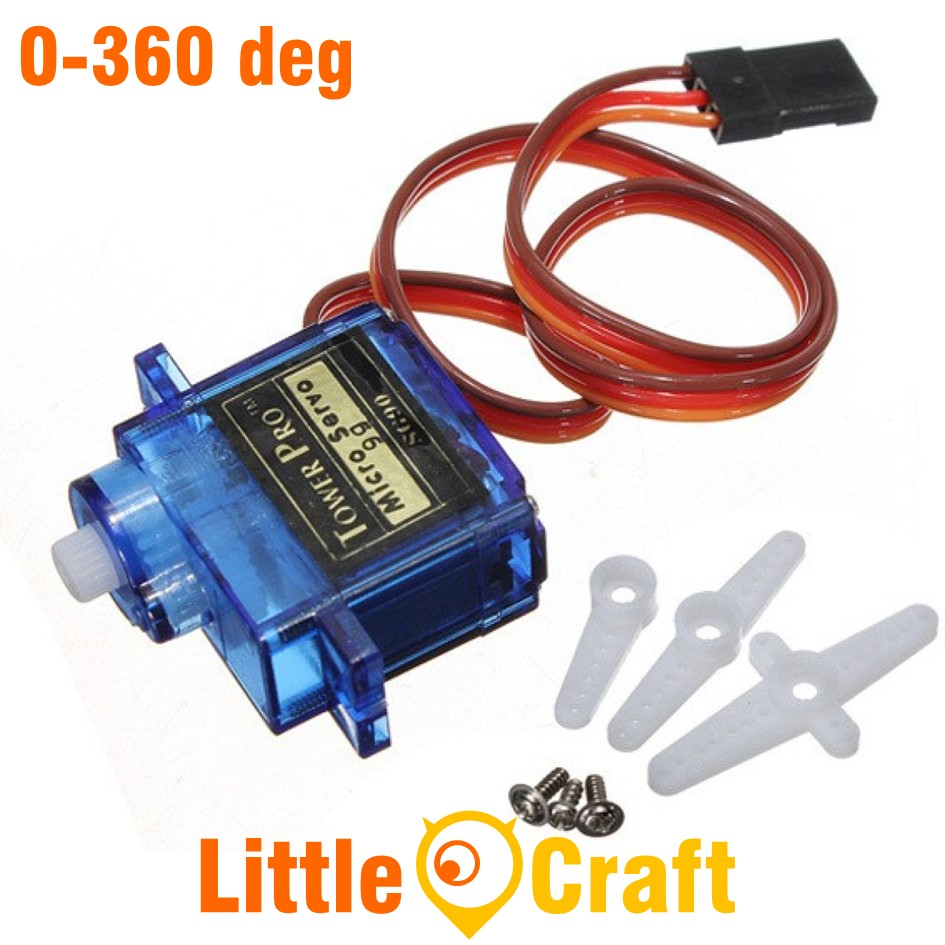 Towerpro SG90 360 Degree Servo Motor