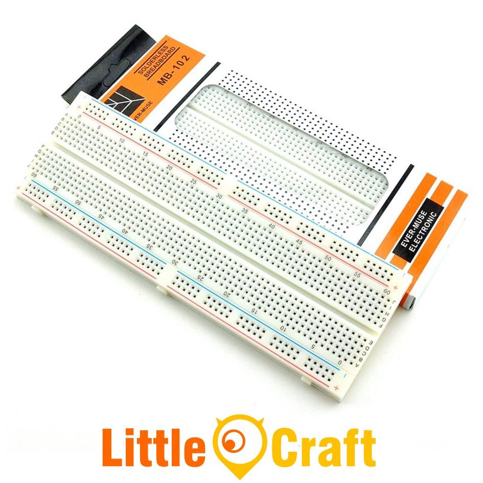 MB-102 830 Tie-Point Breadboard