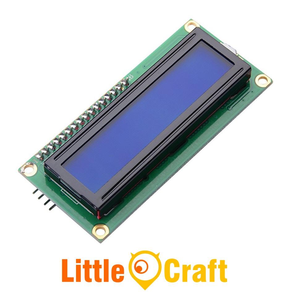 I2C Character LCD Display 1602 Blue Blacklight