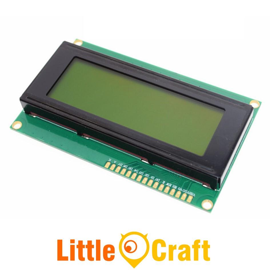 Character LCD Display 2004 Yellow Blacklight