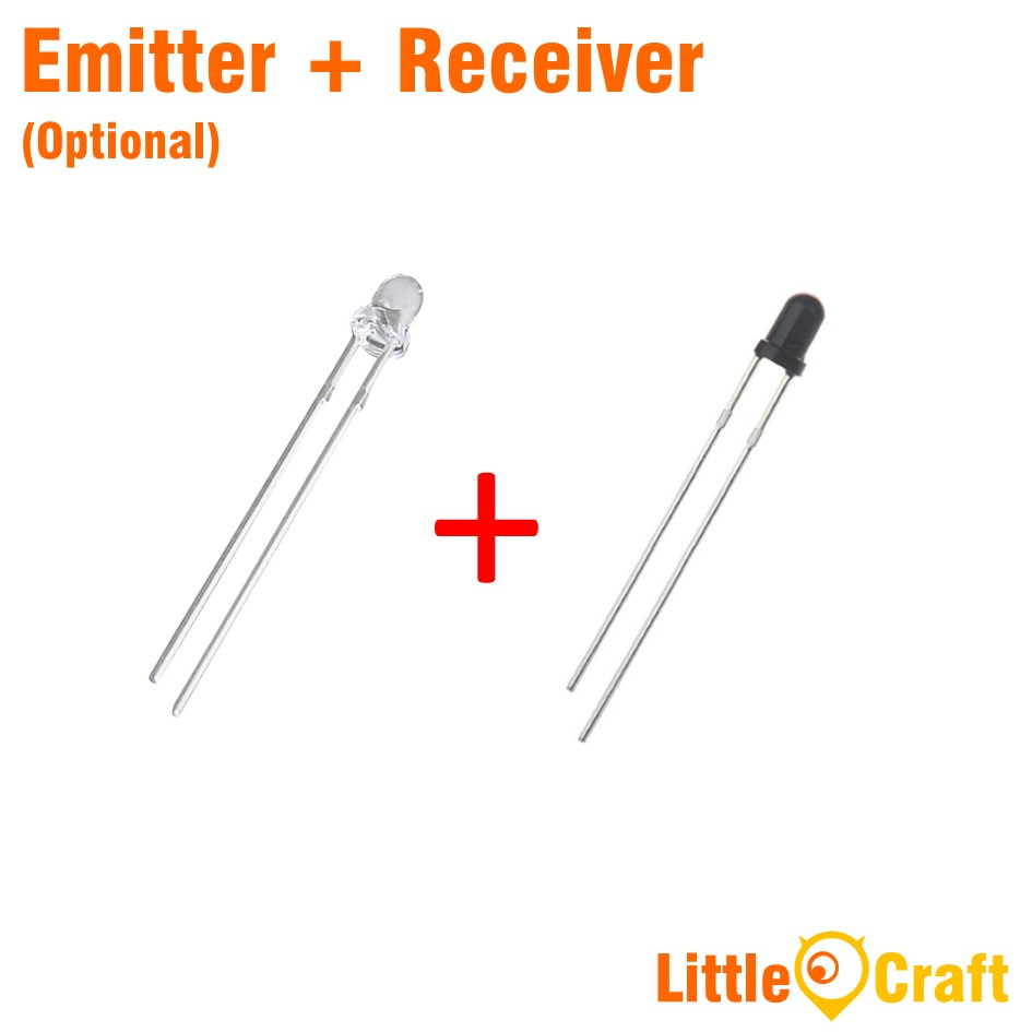 3mm 940nm Infrared IR Receiver