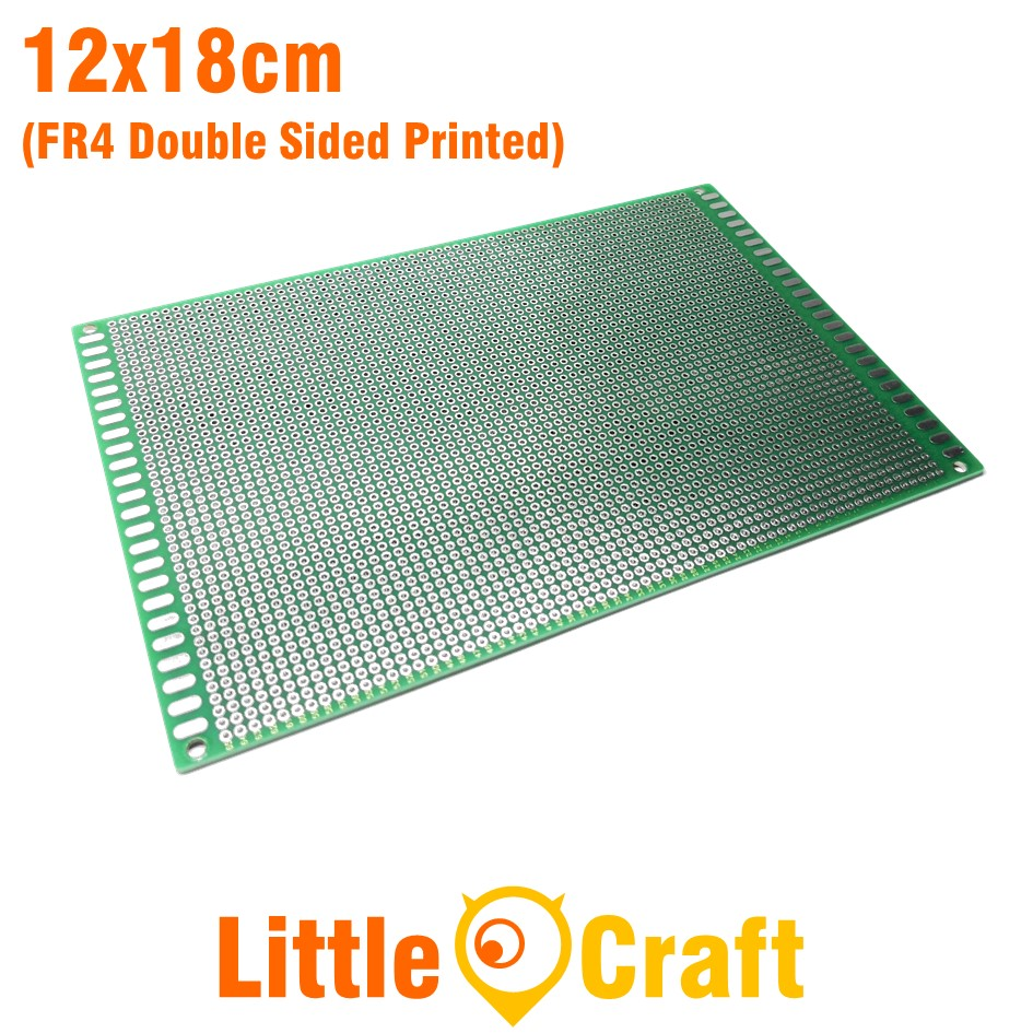 Double Sided Protoboard 12x18cm