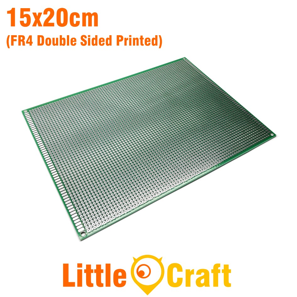 Double Sided Protoboard 15x20cm