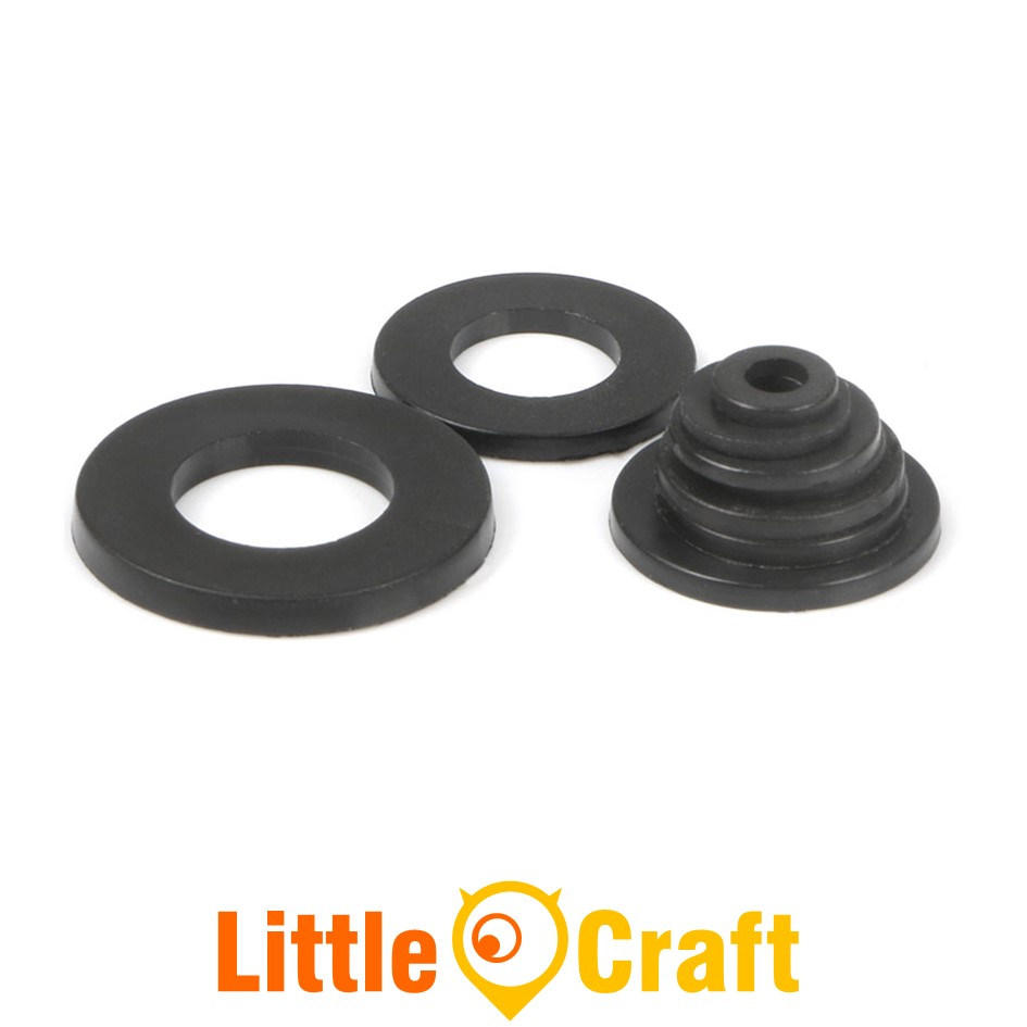 Nylon Flat Washer M3 M4 M5 M6 Black
