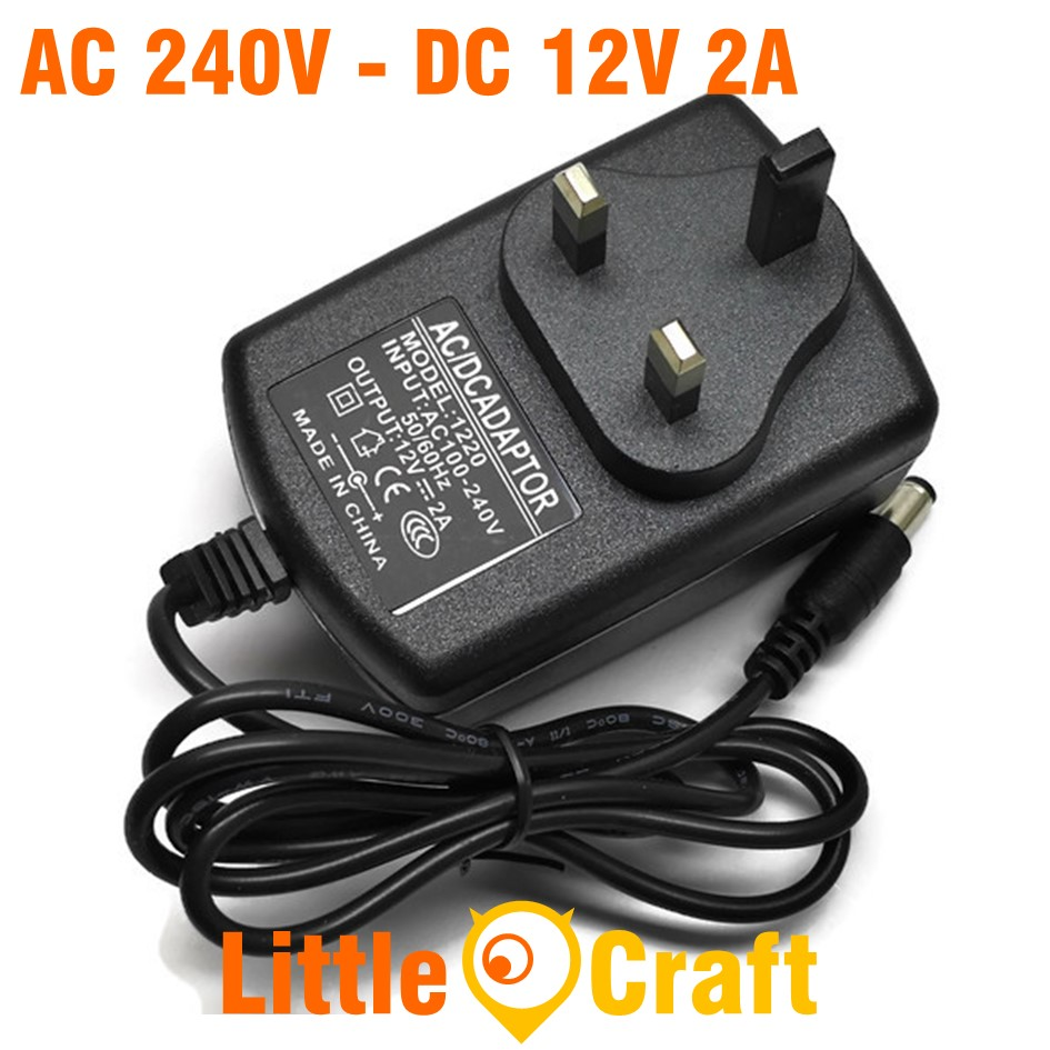 AC 100-240V To DC 12V 2A Adapter