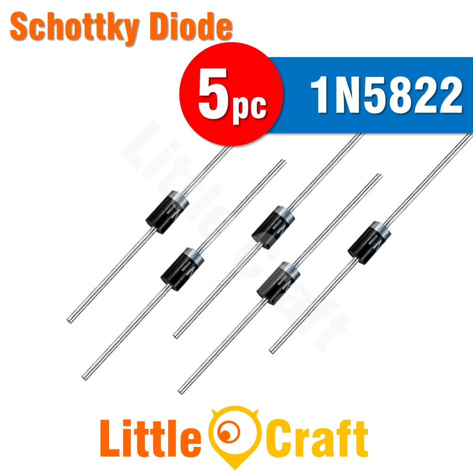 5pcs 1N5822 Diode Schottky Diode