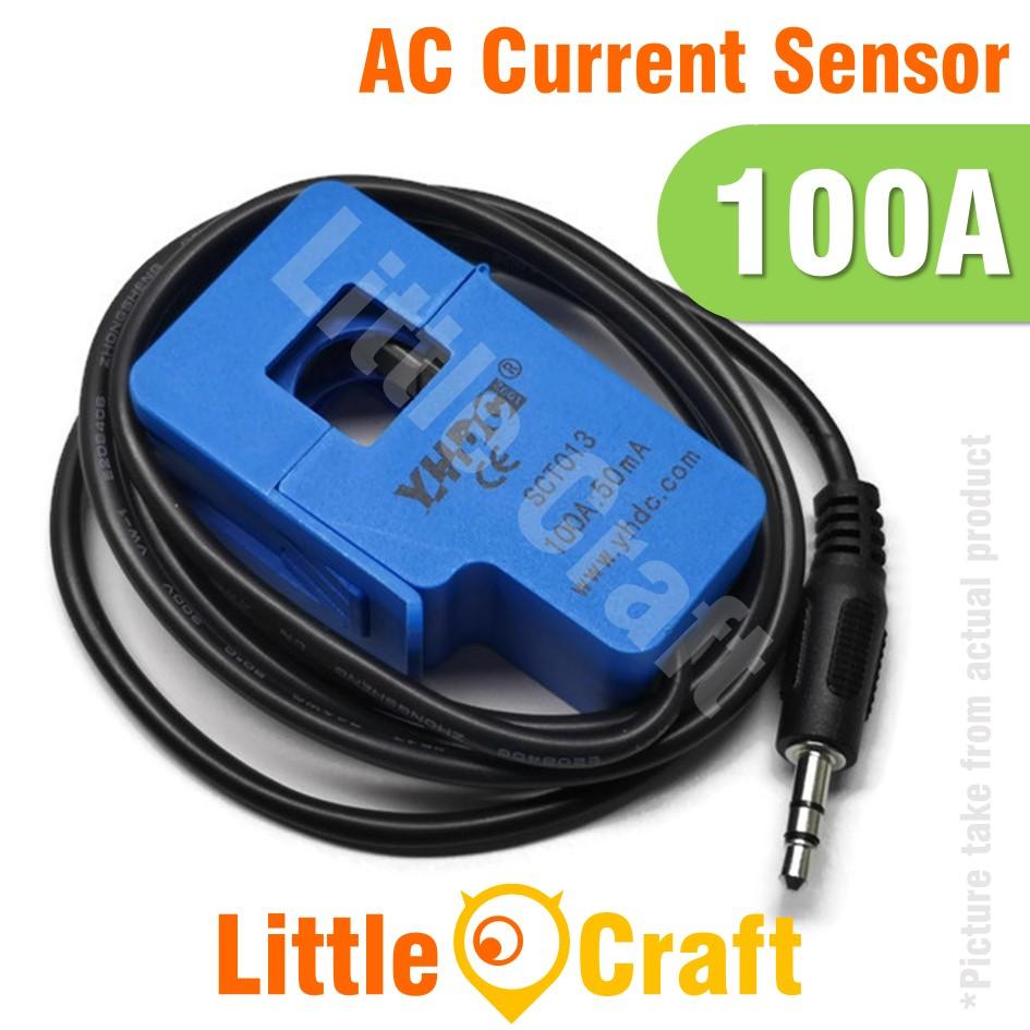 SCT-013 100A Non-Invasive AC Current Sensor Clamp Sensor