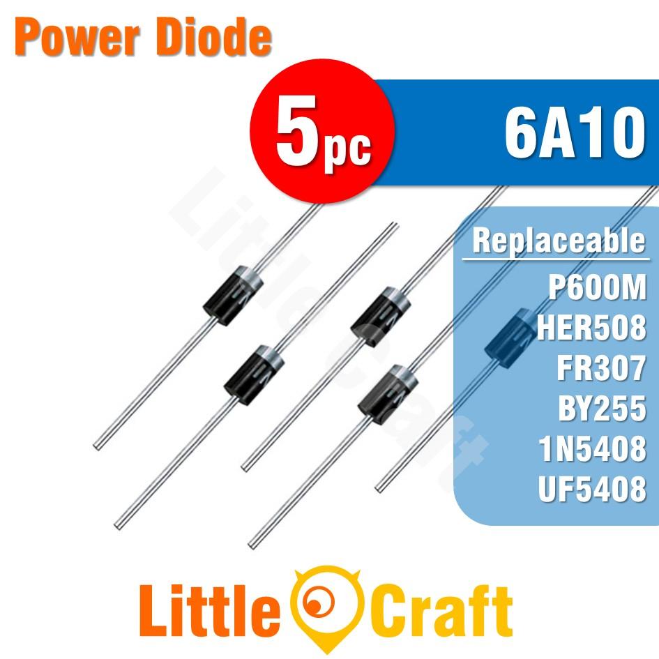 5pcs 6A10 Diode Power Diode