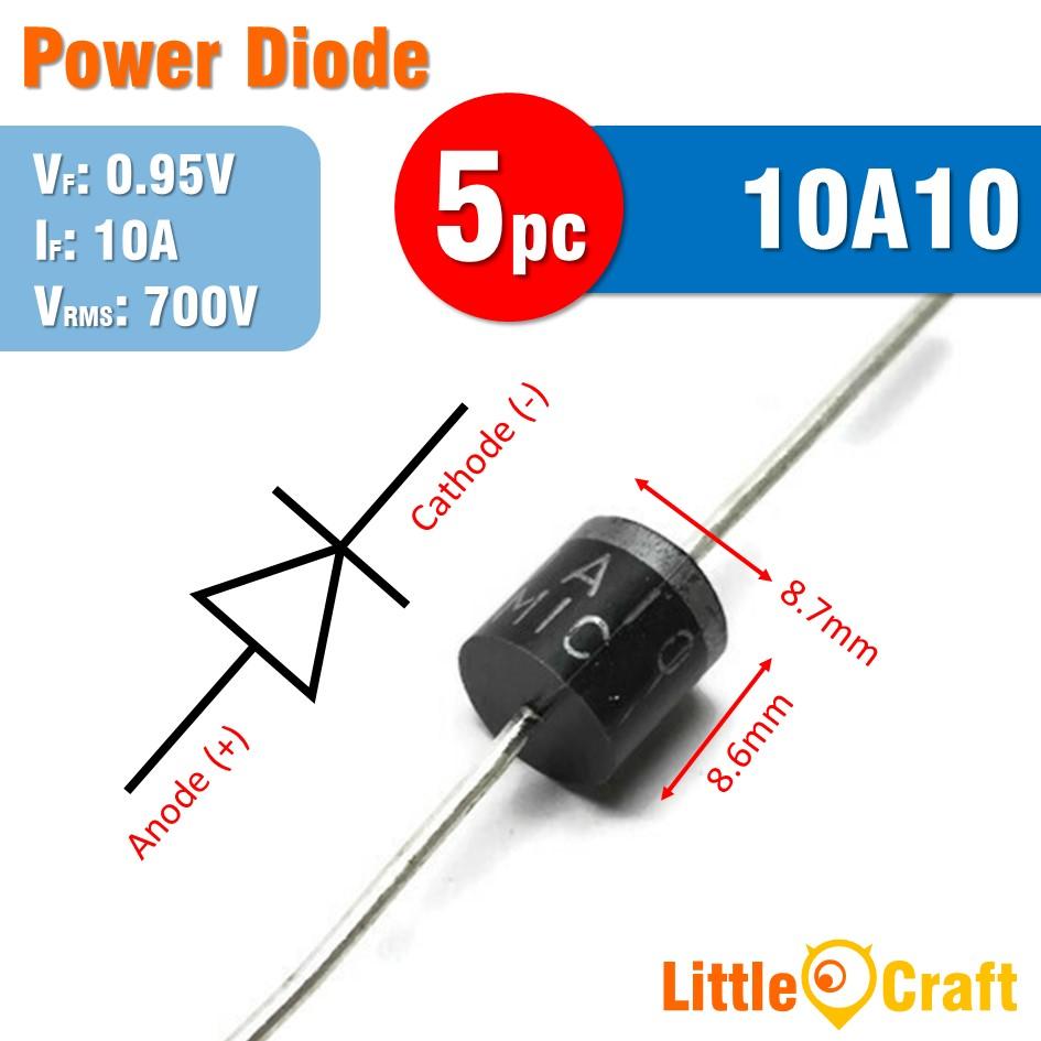 5pcs 10A10 Diode Power Diode