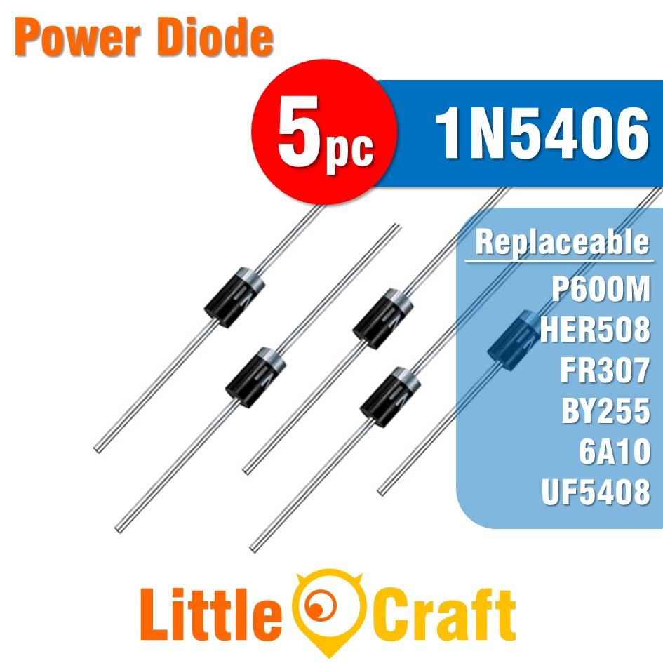 5pcs 1N5406 Diode Power Diode