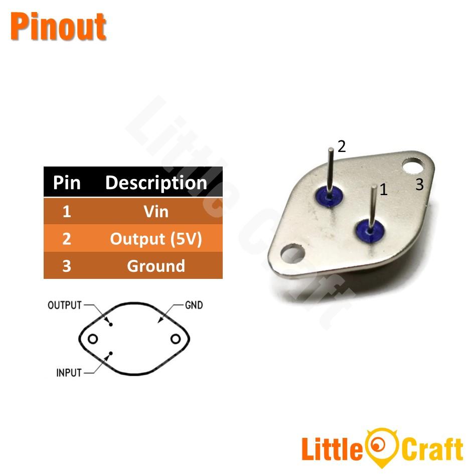 LM78H05K 5V Voltage Regulator [TO-3]