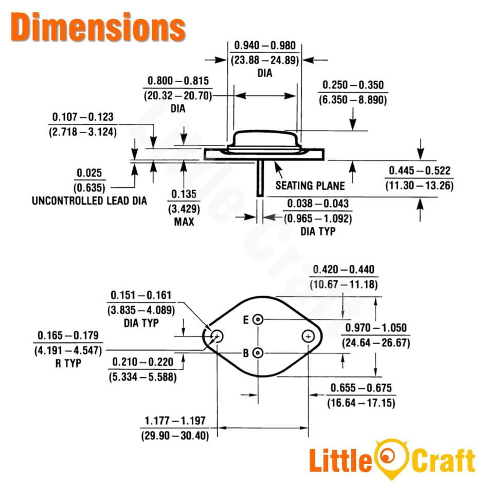 LM317K Variable Voltage Regulator [TO-3]