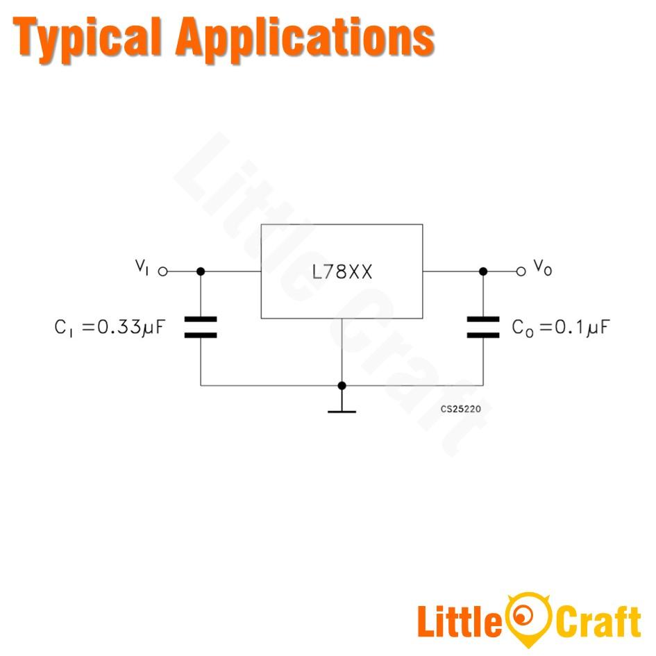 L7815CV 15V Voltage Regulator [TO-220]