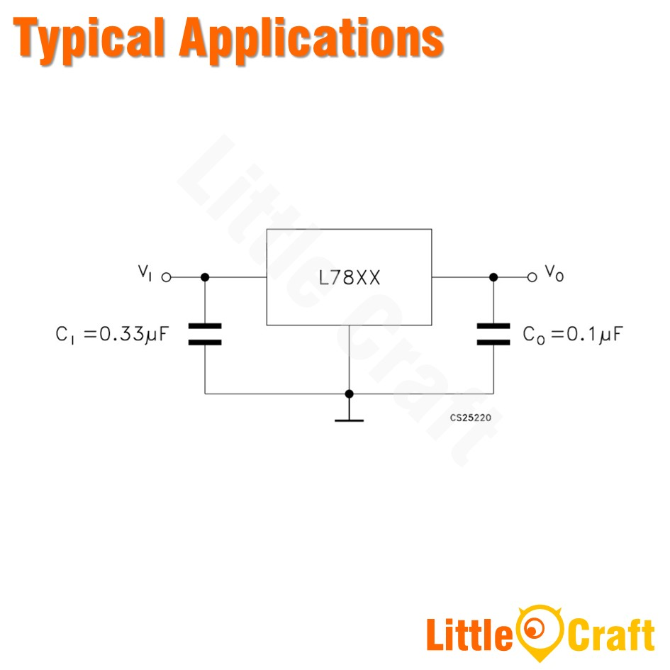 L7824CV 24V Voltage Regulator [TO-220]