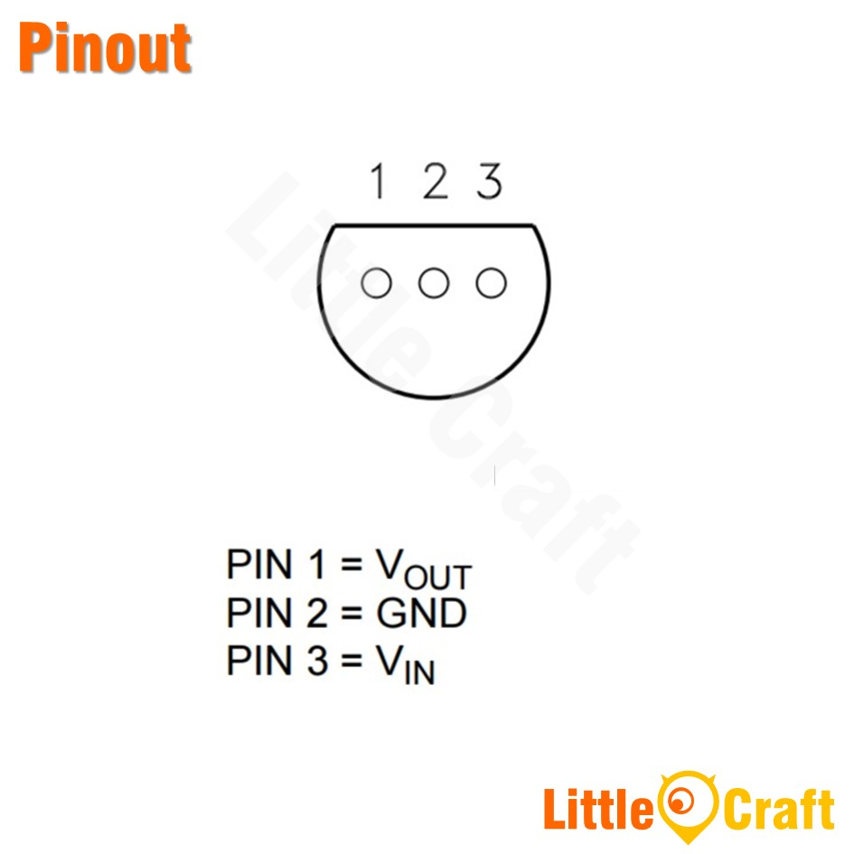 L78L33ACZ 3.3V Regulator [TO-92]