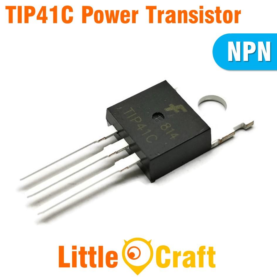 TIP41C NPN Power Transistor [TO-220]